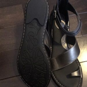 ad9463c1e4ba boc Shoes - B.O.C Leila Pewter Sandals